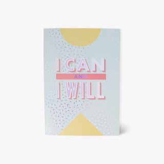 I can and I will motivational journal main image