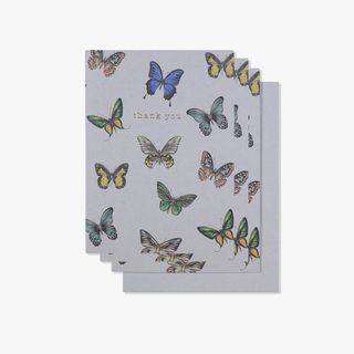 Butterflies thank you cards - pack of 10 main image
