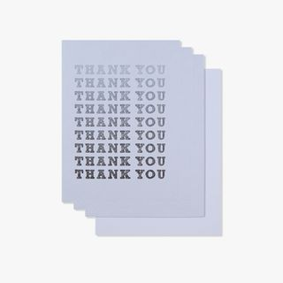 Ombre thank you cards - pack of 10 main image
