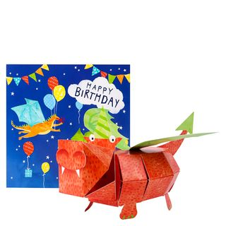 Pop Out 3D Dragon Birthday Card  main image