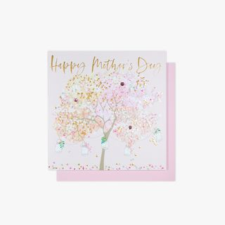 Floral tree Mother's day card main image