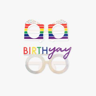 Ginger Ray for Paperchase birthday glasses - pack of 8 main image