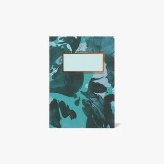 A6 Green Marble Notebook  main image