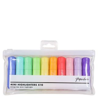 Mini highlighters - pack of 10 main image