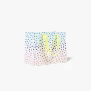 Small ombre star gift bag main image