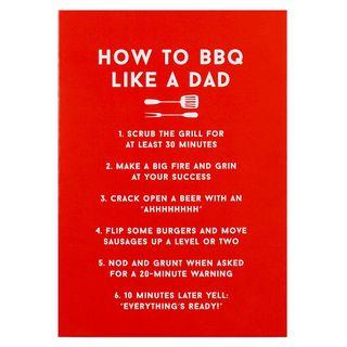How to BBQ Father's day card main image