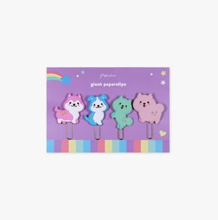 Pastel Pups Paper Clips - Pack of 4  main image
