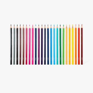 Felt tips and colouring pencils - pack of 48 main image