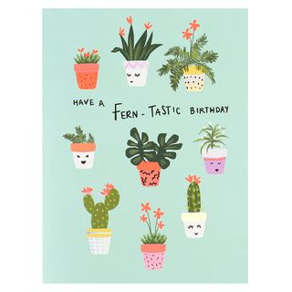Have a fern-tastic day birthday card  main image