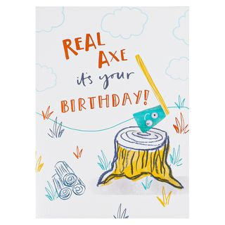 Real-axe its your birthday card  main image