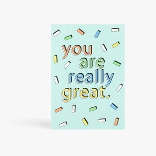 You are really great postcard main image