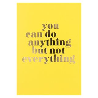 Anything but not everything postcard main image