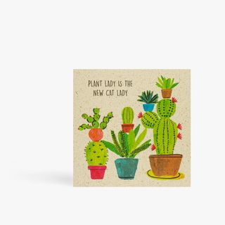 Plant lady is the new cat lady card main image