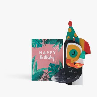 Pop Out 3D Toucan Birthday Card  main image