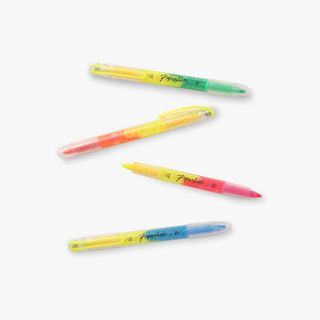 Dual-Ended Neon Highlighters - Pack of 4  main image