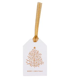 Gold trees gift tags - pack of 5 main image