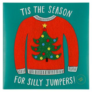 Tis the season for silly jumpers musical Christmas card main image