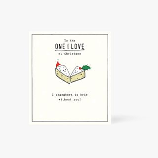 Camembert To Brie Without You Card  main image