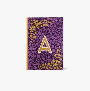 Letter A Notebook  main image