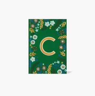 Letter C Notebook  main image