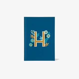Letter H Notebook main image