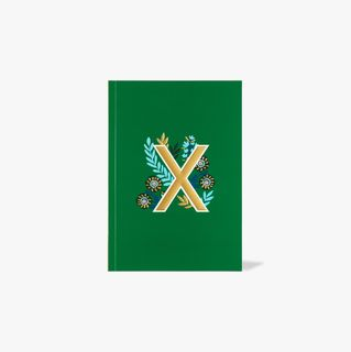 Letter X Notebook main image