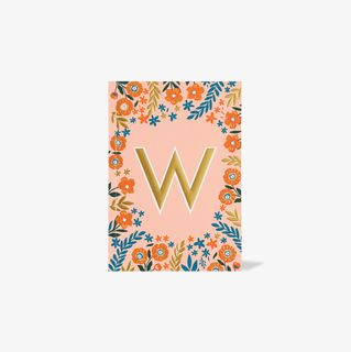 Letter W Notebook main image