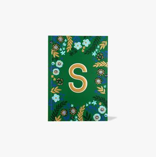 Letter S Notebook main image