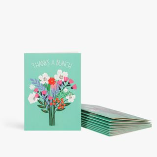 Thanks a bunch notecards - pack of 10  main image