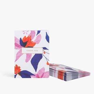 Hanna floral thank you notecards - pack of 10 main image