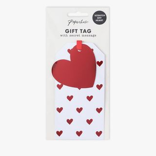 Heart scratch off gift tag - 1 pack  main image