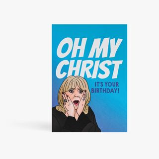 Oh My Christ It's Your Birthday Card  main image