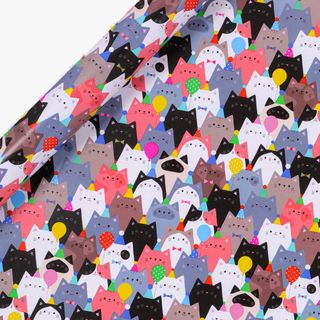 Party Cats Wrapping Paper - 3m  main image