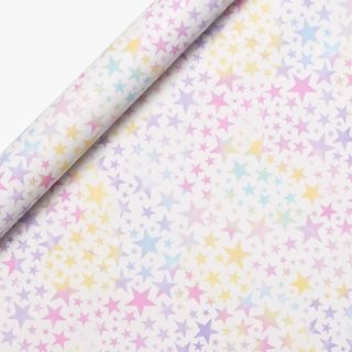 Pastel Stars Wrapping Paper - 5m  main image