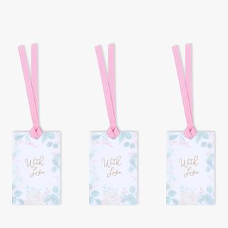 Watercolour floral layer gift tags - 3 pack  main image