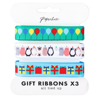 Party cats ribbons 3m - 3 pack main image