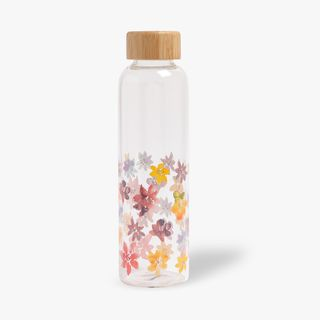 Meadow Floral Glass Bottle  main image