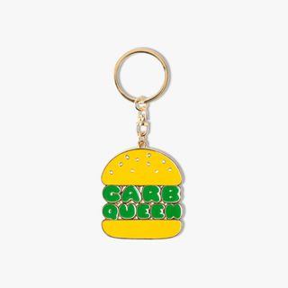 Carb Queen Keyring main image