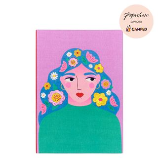 A5 Embroidered Hardback Notebook  main image