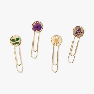 Floral Paper Clips - Pack of 4  main image