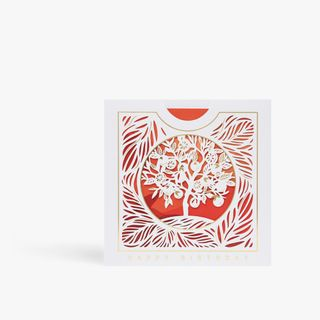 Pull Out Laser Cut Tree Card main image