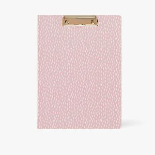 A4 Wildflower Padfolio in Pink  main image