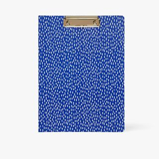A4 Wildflower Padfolio in Blue  main image