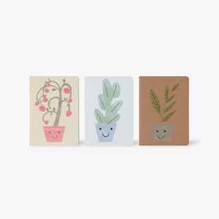 A6 Bee Happy Notebooks - Set of 3  main image