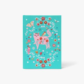 A5 Floral Friends Embroidered Notebook  main image