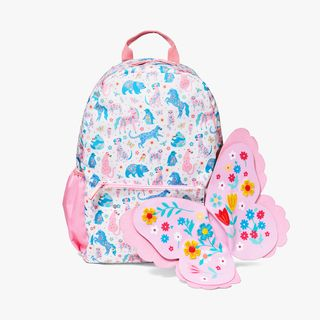 Floral Friends Backpack With Wings  main image
