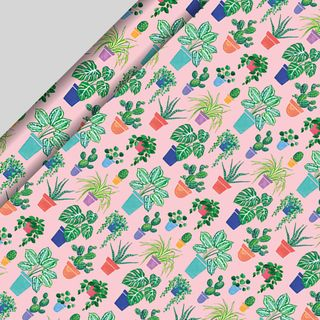 House Plants Wrapping Paper - 3m  main image