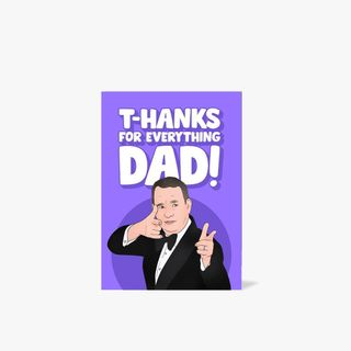 T Hanks Dad Father's Day card  main image