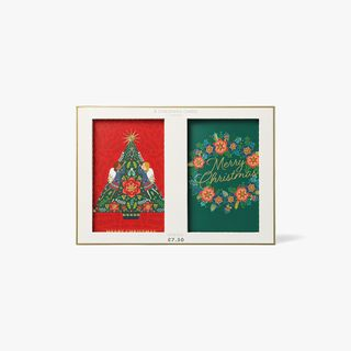 Luxe Wreath Christmas Cards - Box of 8  main image