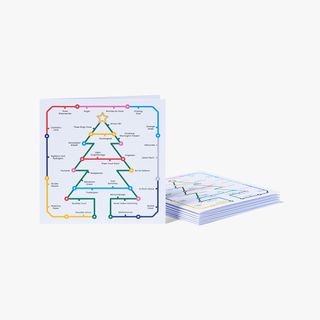 Tube Trees Charity Christmas Cards - Pack of 8  main image